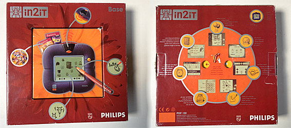 In2it buiten doos Philips in2it prototype handheld