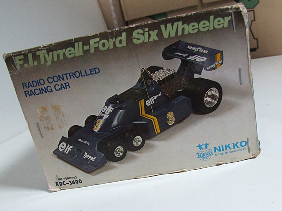 NIKKO Tyrrell Ford Six Wheeler 6