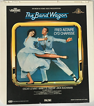 The Band Wagon (1953),RCA CED Videodisc,CED_Videodisc