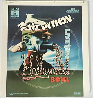 Watch Monty Python Live at the Hollywood Bowl (1982),RCA CED Videodisc,CED_Videodisc