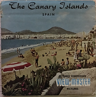 Spain The Canary Islands,ViewMaster schijven,Stereoviewers/ViewMaster/Reels