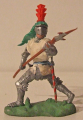 Knight with pole-axe