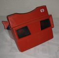 Stereo-viewer Mod. G (Rood + Logo)