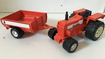 Tractor + aanhanger,Joustra Goliath,Toys/Overige