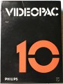 Nr. 10 - Golf,Philips Videopac,Retrocomputer/Philips/Software/VideoPac
