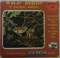 Wild Birds in natural Habitat,ViewMaster schijven,Stereoviewers/ViewMaster/Reels