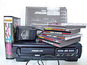 Sega mega cd set