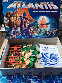 Onwijs Puzzel-Bordspel: Atlantis LU-23