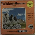 Italy - The Dolomite mountains,ViewMaster schijven,Stereoviewers/ViewMaster/Reels
